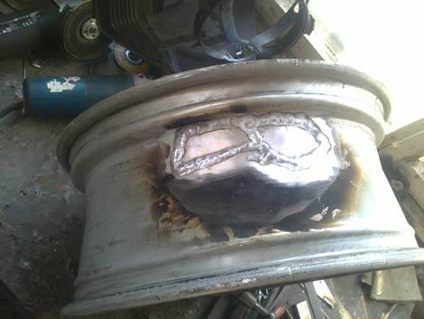 Професионално заваряване и възстановяване на алуминиеви джанти
